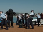 "Australian Federal Police respond to ""threat"" in Canberra."