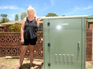 NO CONNECTION: Jenny Pearson has decided not to get on the NBN due to reported problems on Bribie.