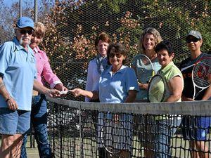 $2000 donation gives Yangan Tennis Club a shot