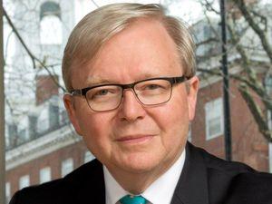 Rudd seeks UN bid support