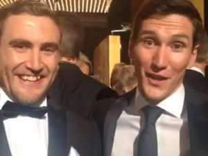 VIDEO: House Rules' Dalby twins go dapper for the Logies