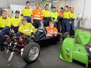 Ipswich students build racecar