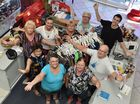 Endeavour volunteers - (clockwise back right) Chris Provis-Schwede, Chris Wright, Marie Dice, Nita Wright, Mary Ryan, Monica Gruettner, Lillian Katt, Maree Maden and Shirley Trundley. Photo: Alistair Brightman / Fraser Coast Chronicle