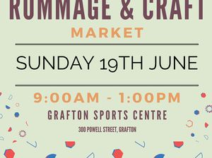 Vintage, Retro, Rummage, Craft, Food. Plenty to see & buy. Huge undercover market! If interested in a stall, contact us on 66431188/ email gscmarkets@gmail.com