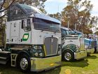 SHOW AND SHINE: Shined up and lined up in Deniliquin.