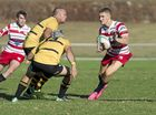 Zack Loxley for Rangers against Goondiwindi in Downs Rugby Risdon Cup round 7 rugby union at Gold Park, Saturday, May 14, 2016.