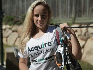 Alyssa, 19, has scaled Everest. Now she must come down