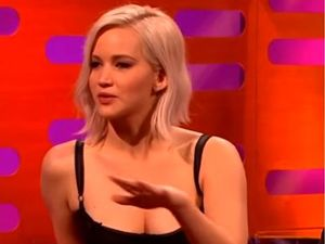 Jennifer Lawrence has two words for Donald Trump
