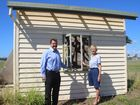 A COMMUNITY campaign to save a piece of Burnett Heads history is under way.