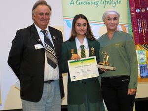 Mikayla claims top honour with speech
