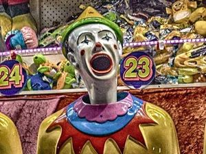 What's a show without clowns