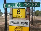 ALLIES Creek, a town 60km south of Mundubbera which was on the market for $750,000, has been placed under contract.