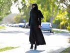 Kathy Sundstrom dressed as a Muslim. Photo: Brett Wortman / Sunshine Coast Daily