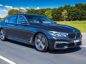 PLEASURE CRUISE: Technology in abundance with the 7 Series luxury large sedan shows BMW at its innovative best