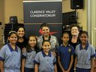 The sounds of young voices rang through the Clarence Valley Conservatorium when students from the area took the stage during a Short Black Opera workshop