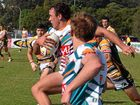 FORMER Grafton Ghost winger Dan Lollback scored two tries as Northern Rivers booked their place in the Country Rugby League Tier Two semi-finals.