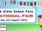 Middle Park State School Fete is hosting an International Fair theme. We will have rides, side show alley, reptile display, entertainment, ethnic foods and more