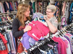 Grafton Cathedral Op Shop rises from the ashes