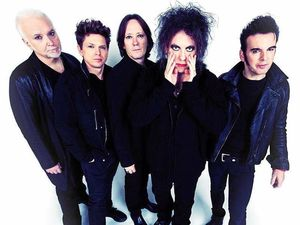 THE ONLY NAME YOU RECOGNISE? British rock band The Cure will headline the 2016 Splendour in the Grass music festival.