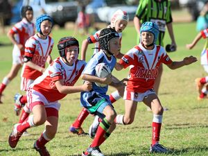 Stars of junior rugby league come out to play