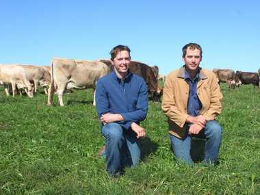 Michael and Aaron Clews, from Slatewood dairy farm in Rossmoya, discuss the impact of supermarket milk wars on Central Queensland farmers and economy.