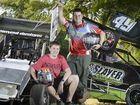 Luke Schmidt and Adrian AJ Josefski will race in this Saturday's Gladstone Show Society Speedway event.