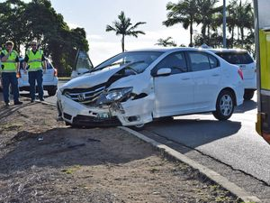 Two vehicle crash on Shute Harbour Road