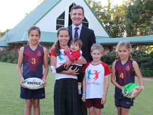 Inaugural sport event touches hearts