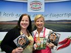 Gourmet Garden marketing brand manager Megan Brabant and 4 Ingredients founder Kim McCosker are launching a cook book.