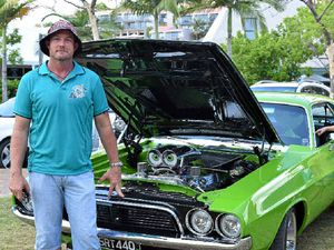 Cool cars to cruise Airlie foreshore