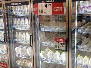 Locals sour on milk war
