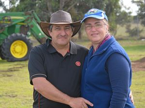 Warana residents Les and Allana Townsend are selling their home and plan to travel around Australia