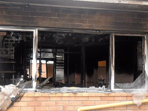 Everything damaged in Civic Centre fire