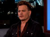Johnny Depp on Jimmy Kimmel Live.