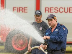 WATCH: Firefighting championships off to a fighting start