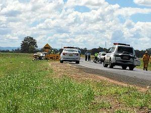 Babysitter charged over horror highway crash
