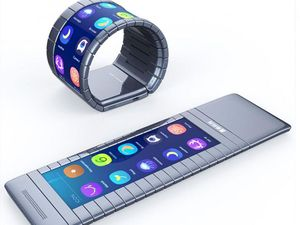 World's first bendable smartphone can be worn on wrist