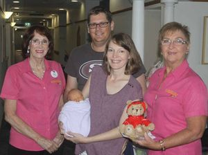 Teddy bear raises funds for cord blood research
