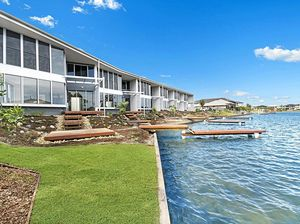 LEADING THE WAY: Qualia, a set of six luxury townhouses at Pelican Waters, has landed Ryan Designer Homes the award for Australian Townhouse/Villa Development.