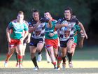 Tweed Heads Seagulls player Samuel Irwin in action against Wynnum Manly Seagulls at Piggabeen last Sunday.