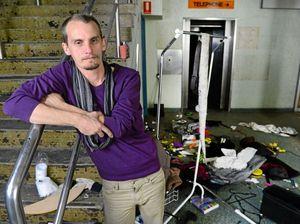 Vandals destroy underground theatre venue