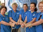 Nurses make point on staffing
