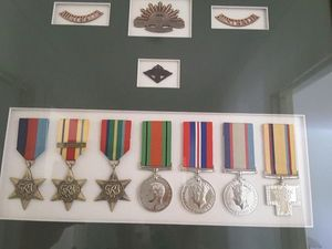 Scumbags steal World War II medals
