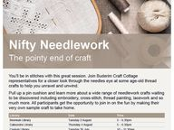 The pointy end of craft