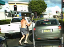 Road rage caught on Dashcam