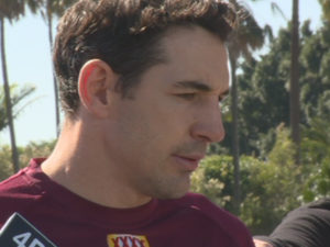Billy Slater talks Origin Team