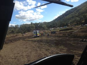 Teenager airlifted to Brisbane after motorbike crash