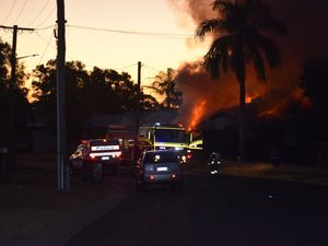 GALLERY: Crime scene set up at Biloela house blaze