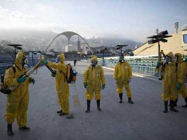 """More than 145 public health experts signed an open letter to the World Health Organization on Friday, May 27, 2016 asking the U.N. health agency to consider whether the Rio de Janeiro Olympics should be postponed or moved because of the ongoing Zika outbreak. The letter calls for the games to be delayed or relocated """"in the name of public health."""""""