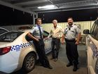 ON THE BEAT: Tweed MP Geoff Provest spent some time on the road with Tweed/Byron LAC officers on Friday night.